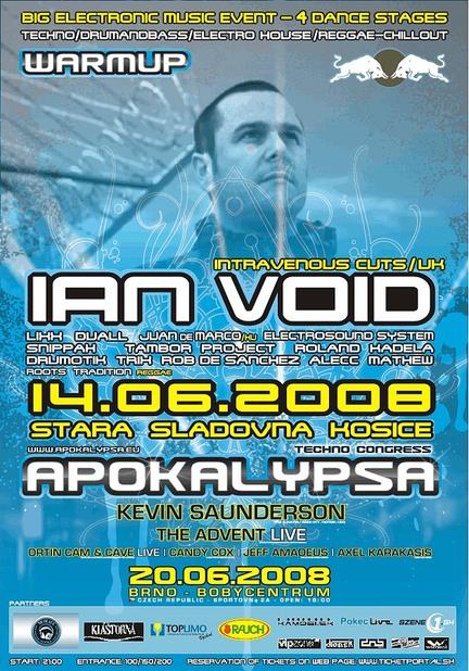 APOKALYPSA Warm-Up Košice @ 14.06.2008