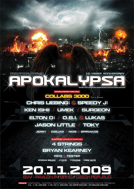 Apokalypsa 32 / 10 YEARS ANNIVERSARY - flayer