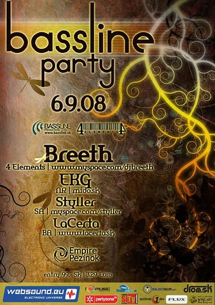 Bassline party @ 06.09.2008