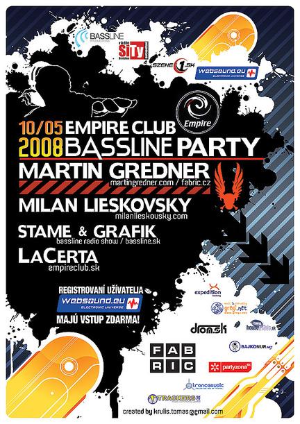 Bassline @ Empire club, Pezinok