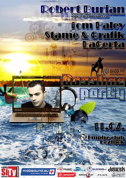Bassline party @ 11.07.2008