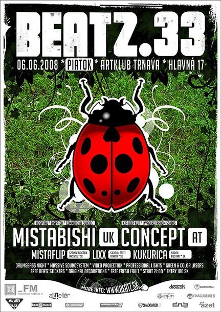 BEATZ.33 with Mistabishi
