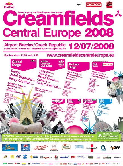 Creamfields CE 2008