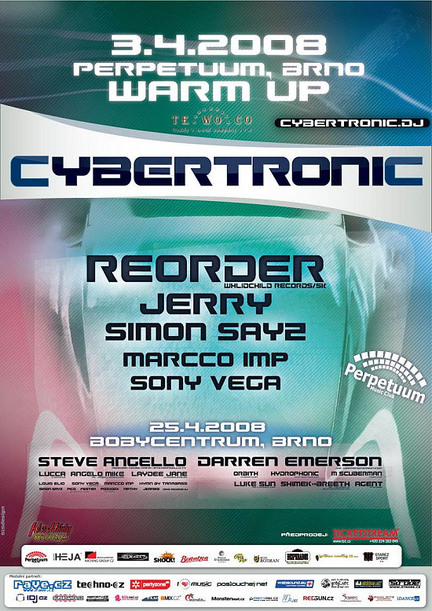 Cybertronic Warm Up - poster