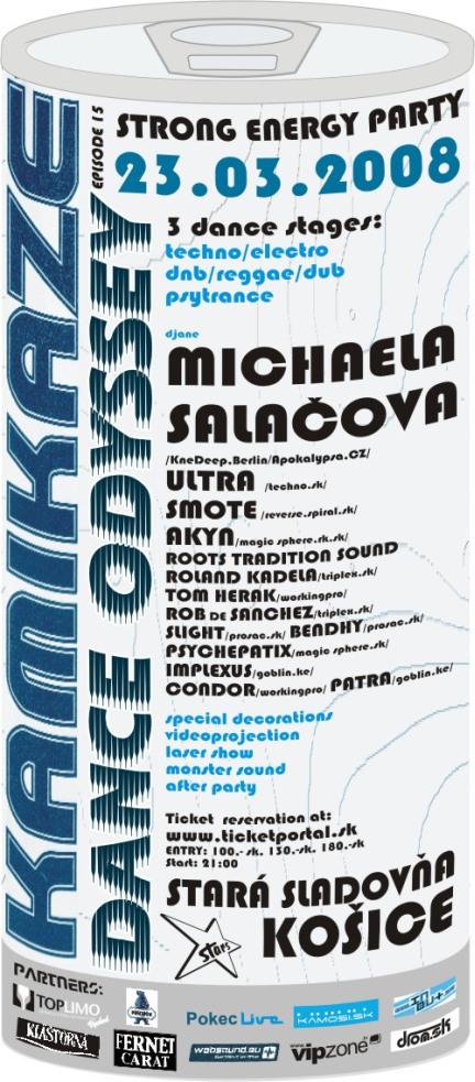 Dance Odyssey 23.03.2008 - Poster