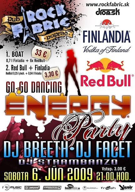 Energy Finlandia Red Bull party @ Rock Fabric, Poprad