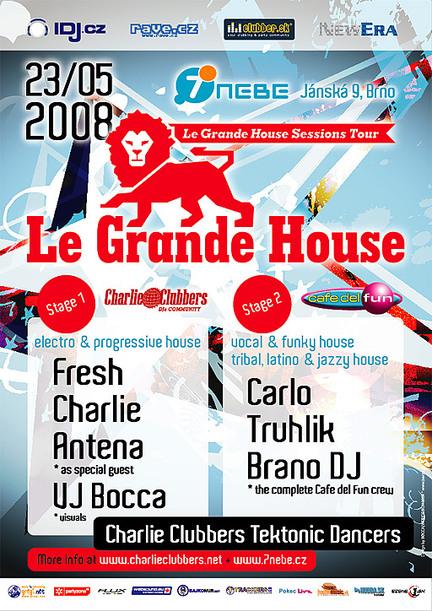 Le Grande House @ 7nebe, Brno / CZ