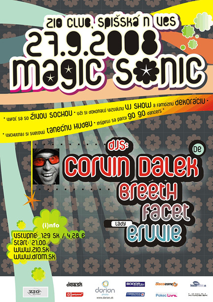Magic Sonic with Corvin Dalek 27.9.2008 @ ZIO club