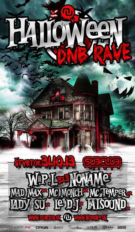 Nudance Halloween DnB Rave 2013