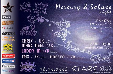 Mercury & Solace night @ 18.10.2008