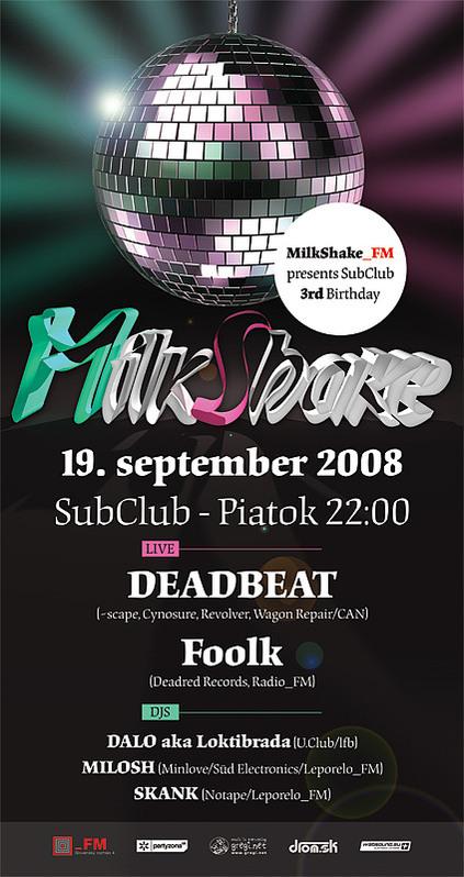 MilkShake @ 19.09.2008
