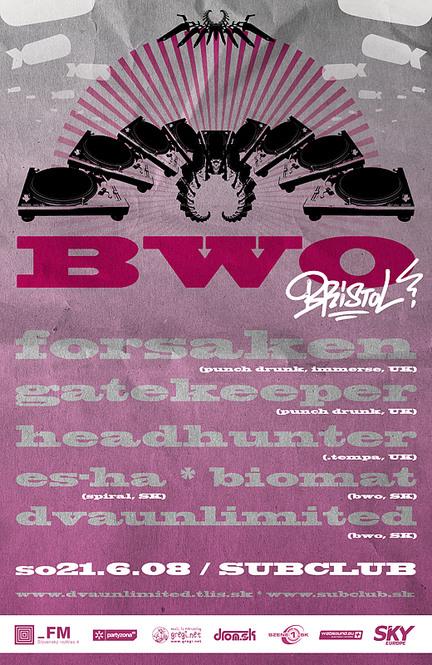 Bristol BWO! @ 21.06.2008, Subclub