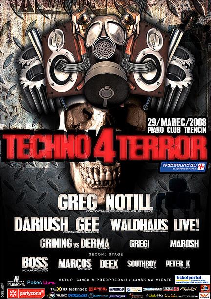 Techno Terror - 29.3.2008