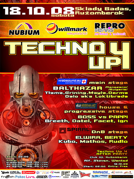 Techno Up 4 - poster