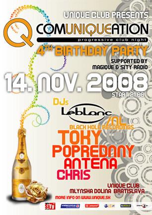 Comuniqueation 4th Bday Party
