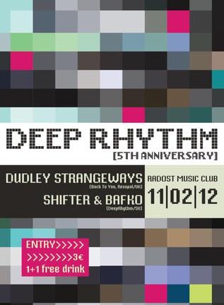 DeepRhythm 5th Anniversary