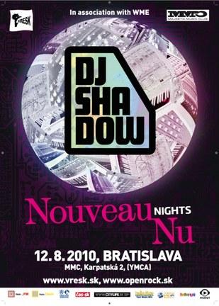 Dj Shadow v Bratislave