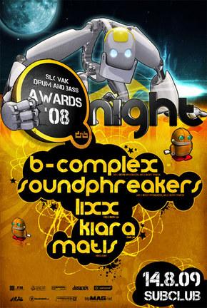 dnb.sk @ Subclub presentz AWARDS night