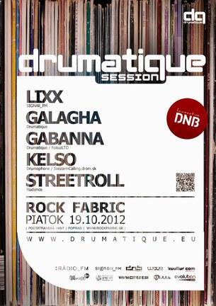 DRUMATIQUE SESSION@ ROCK FABRIK /PP