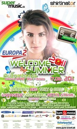EUROPA 2 WELCOME SUMMER 2011 FESTIVAL