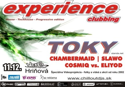 EXPERIENCE Clubbing w/ TOKY
