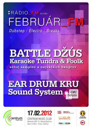 Februar_FM with Battle Džús