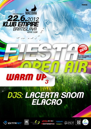 FIESTA OPEN AIR 2012 | WARM UP PARTY #4