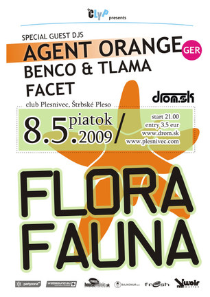 Flora Fauna with Agent Orange