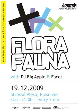 Flora Fauna Xmass w/ Big Apple