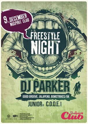 Freestyle Night with DJ Parker