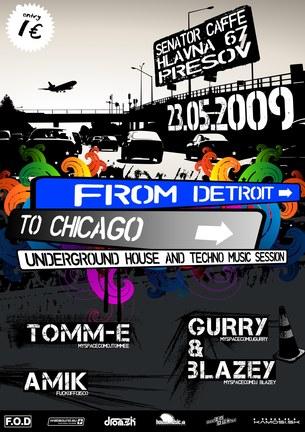 From Detroit to Chicago – Underground Music Event