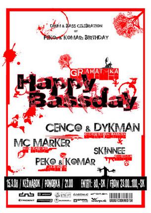 Gramatyka: Happy Bassday
