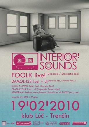 Interior sounds