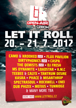 LET IT ROLL CZ open air 2012