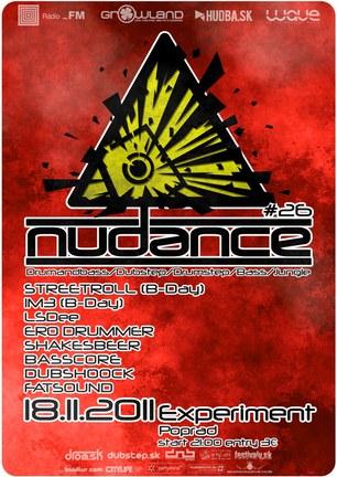 NUDANCE #26 @ EXPERIMENT POPRAD