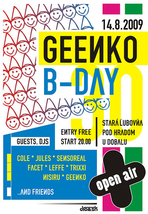Open Air Geenko B-Day celebration