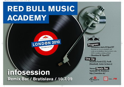 Red Bull Music Academy Infosession & Party