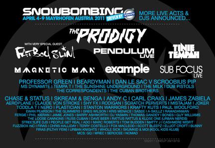 Snowbombing Festival 2011