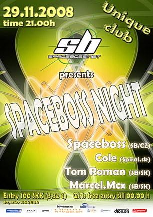 Spaceboss Night 29.11.2008