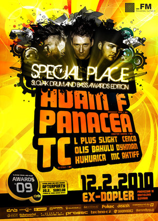 Special Place 04 – Slovak Drum and Bass Awards edition
