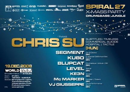 SPIRAL 27 - X-mass party
