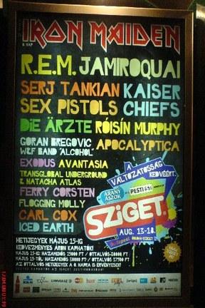 Sziget Festival @ 12-18. Augusta 2008