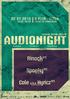 AUDIO NIGHT (Special Retro Edition)