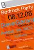 Bedrock Party