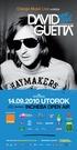 David Guetta One Love tour