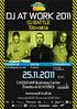 Dj At Work 2011 - Dj Battle with Cheeba (UK)