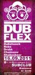 DUBFLEX @ SUBCLUB