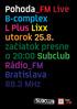 Pohoda_FM Live / DNB vydanie