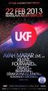 UKF Show 22 Feb 2013